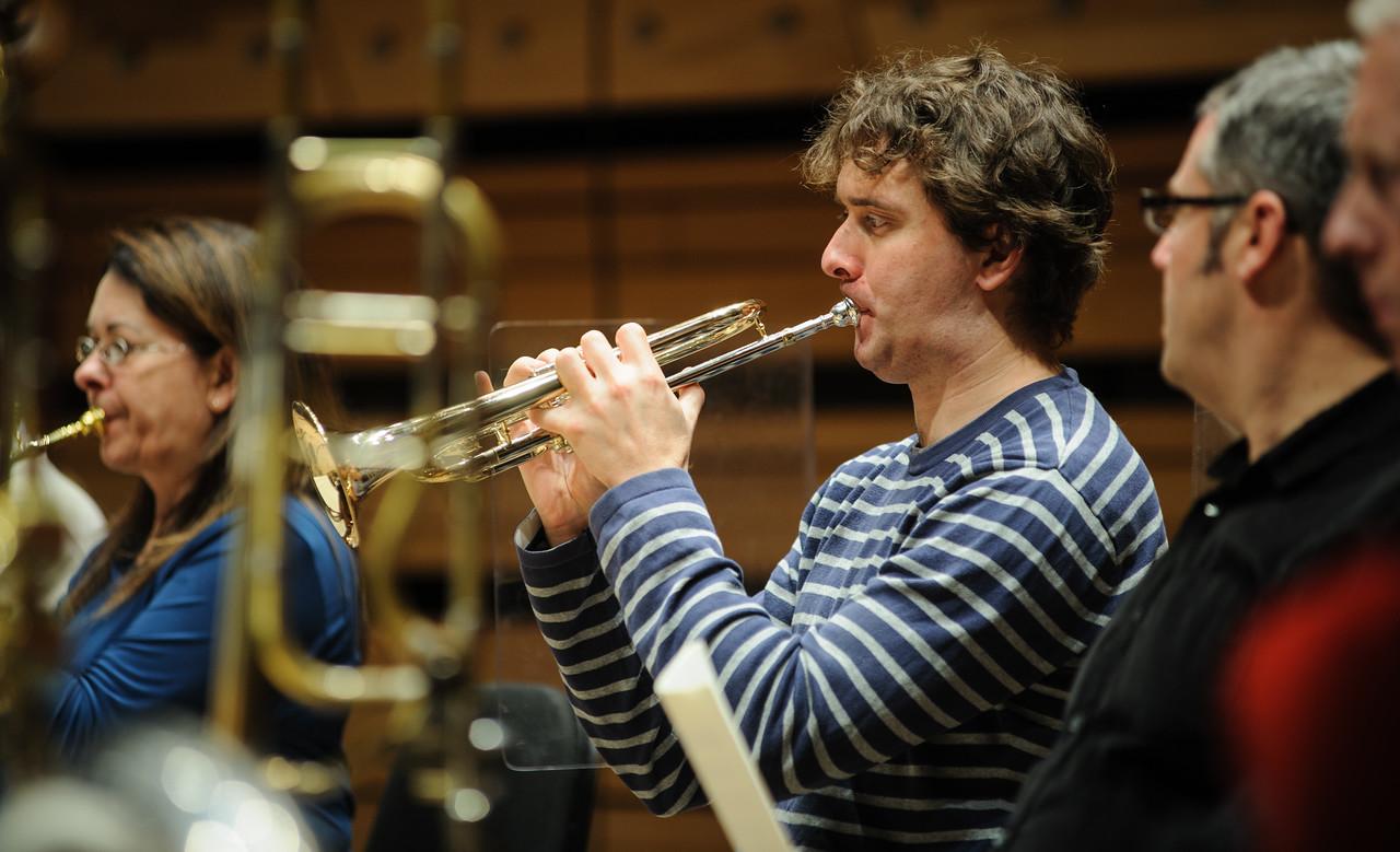 Stéphane Beaulac, trompettiste à l'Orchestre Métropolitain