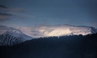 Mountain Range in Kashmir India