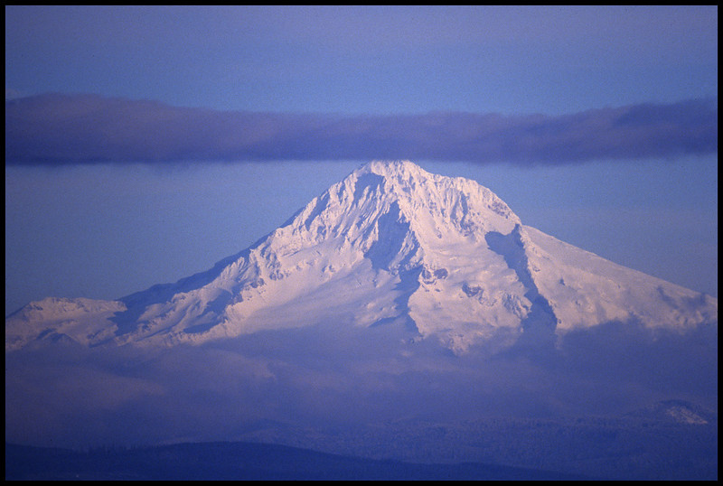 Mt. Hood from Rocky Butte.
