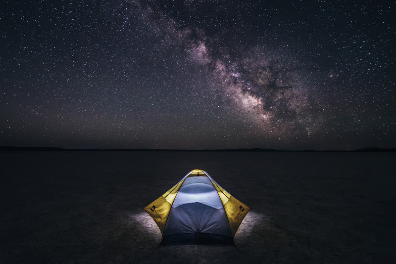 Lost in the Night - Alvord Desert - Fields, Oregon