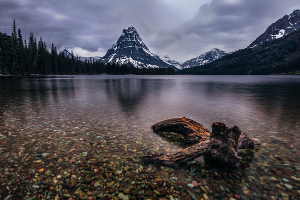When the Time Comes - Two Medicine Lake -  Glacier National Park, Montana