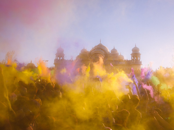 In a Cloud of Color - Holi Festival - Spanish Fork, Utah