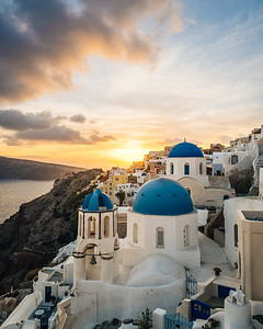 Along the Coast - Santorini, Greece