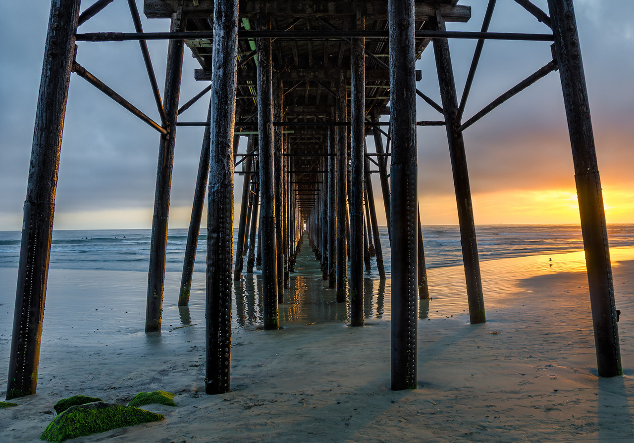 A Night at the Pier – Oceanside, California