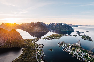From Above - Reine - Lofoten, Norway