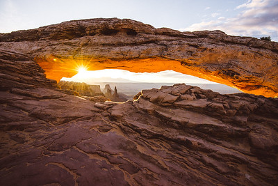 Peaking Through - Canyonlands National Park, Utah