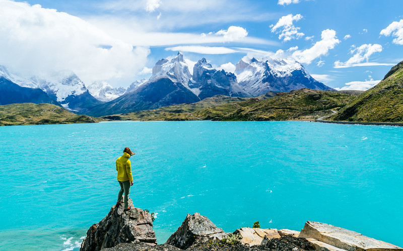 In Awe - Lake Pehoé - Torres del Paine, Chile_