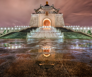 Nightfall at Chiang Kai-shek