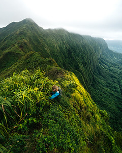 Along the Ridge - Oahu, Hawaii