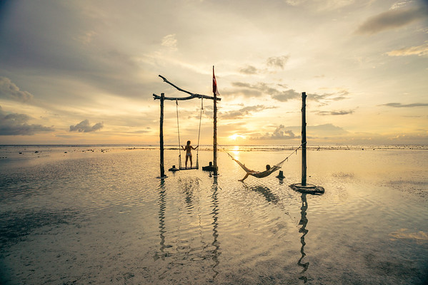Ocean Swing - Gili Air - Lombok, Indonesia