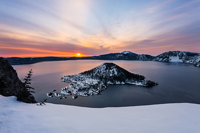 Finding Yourself on the Edge - Crater Lake National Park, Oregon