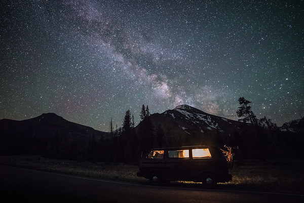 Sleeping Under the Stars - Two Medicine - Glacier National Park, Montana