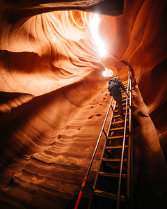 Decend - Antelope Canyon - Paige, Arizona