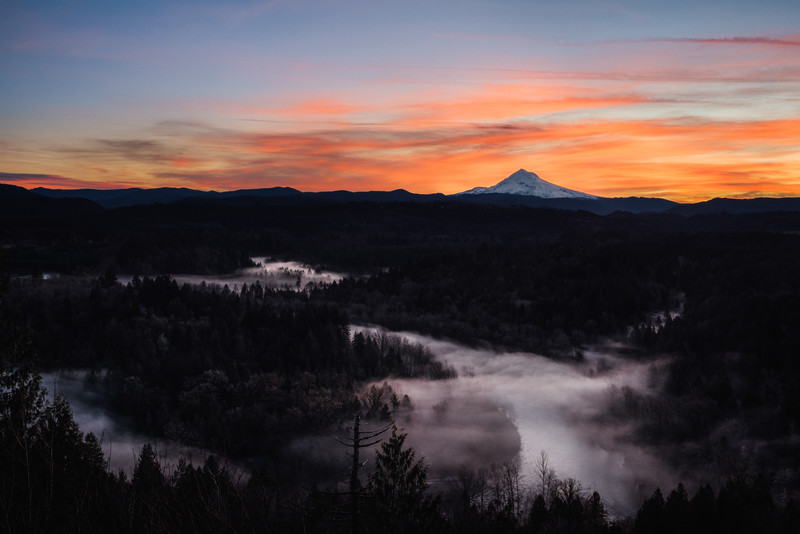 Fog Valley - Jonsrud Viewpoint - Gresham, Oregon