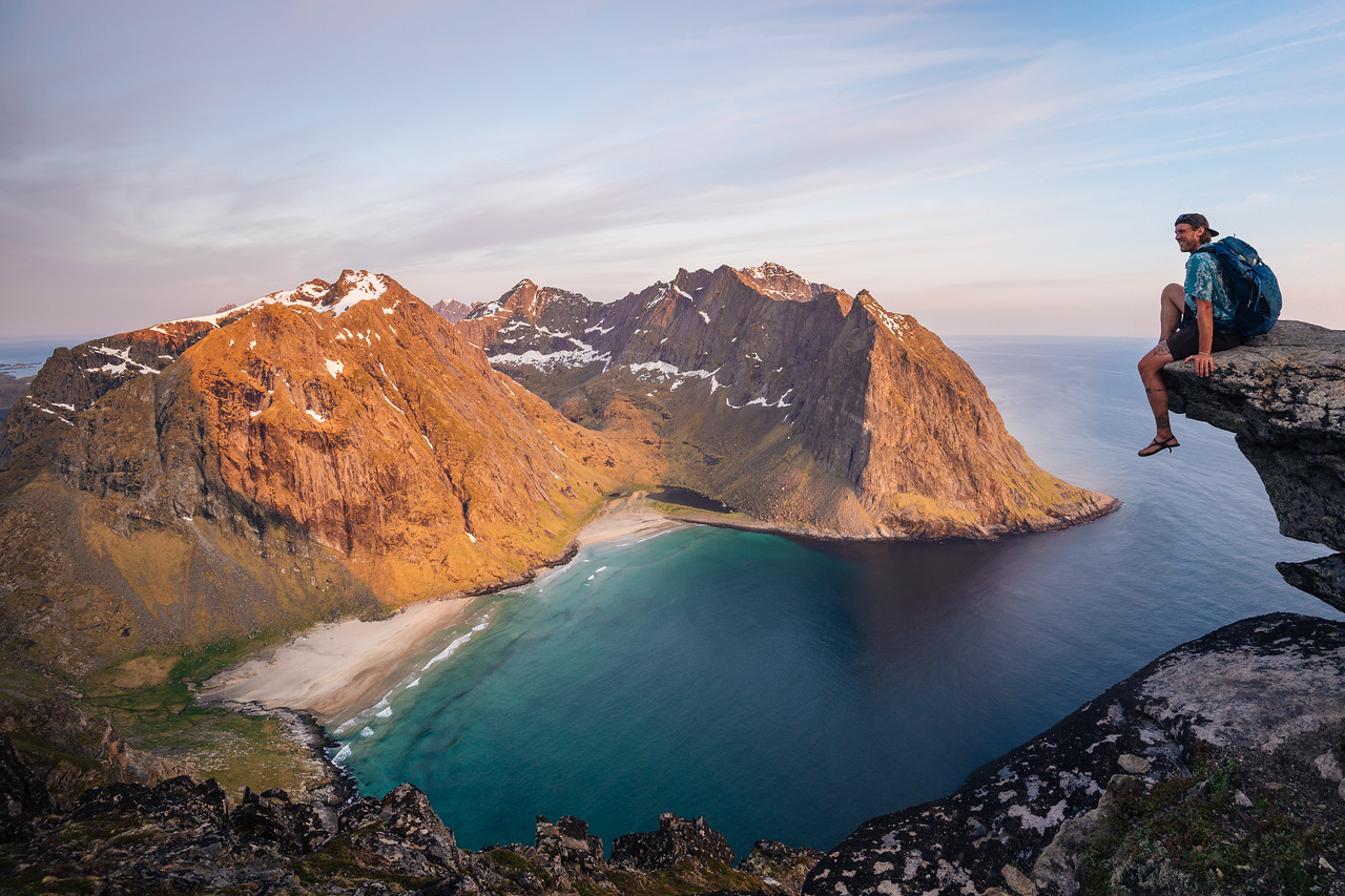 A View from Above - Kvalvika - Lofoten, Norway