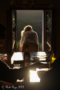 Looking out at the Tuscan sunset - Siena, Italy ... May 26, 2013 ... Photo by Rob Page III