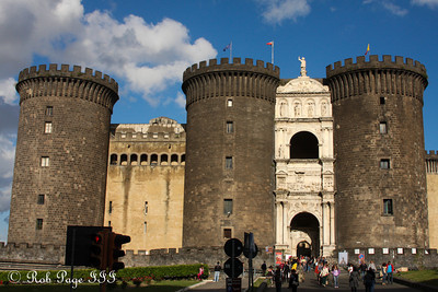 Castel Nuovo - Naples, Italy ... May 25, 2013 ... Photo by Rob Page III