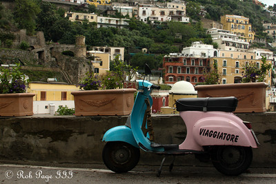 A Vespa - Positano, Italy ... May 23, 2013 ... Photo by Rob Page III