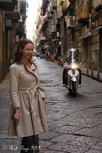 Emily enjoying the Italian streets - Naples, Italy ... May 25, 2013 ... Photo by Rob Page III