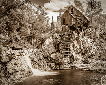 Crystal Mill - 1 Sepia