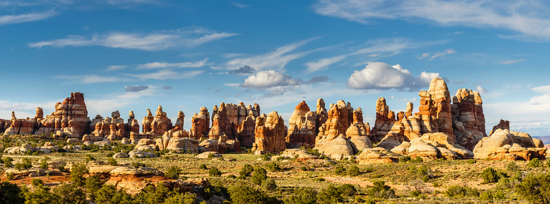 Canyonlands Dollhouse Pano