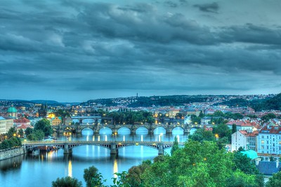 4th day - painted hdr version  Praha