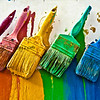 Brushes of color