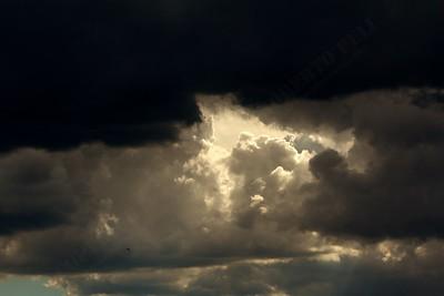 Un tardo pomeriggio di ordinario temporale