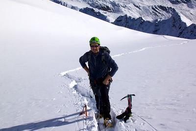 Ugolini BS - Corso Introduzione Alpinismo 2010 - Comportamento su ghiacciaio