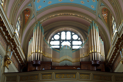 The Organ - St Mary of the Angels Church