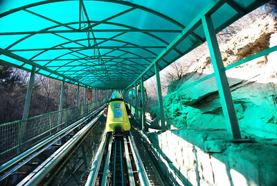 Open air car to Great Wall