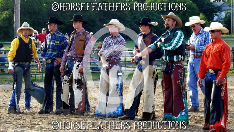 Small rodeo in Ohio.