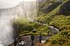 Misty Gullfoss Path
