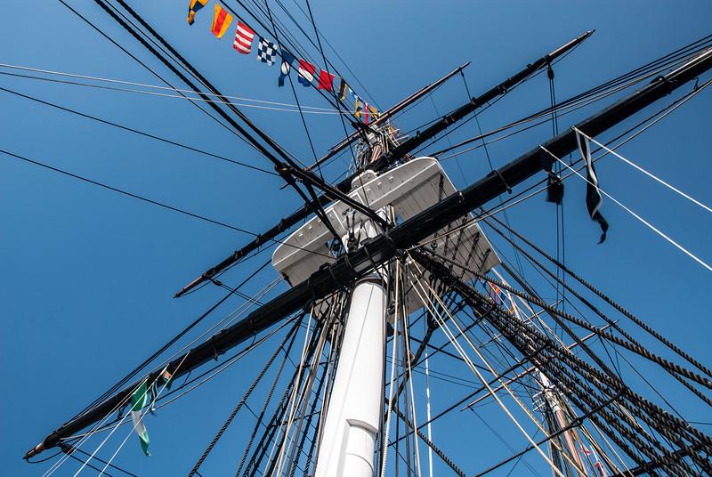 USS Constitution Mast