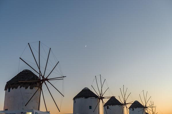 Mykonian Windmills