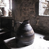 "Primitive kitchen in old chateau, Volvic France<br /> ""Shades of the Past"""