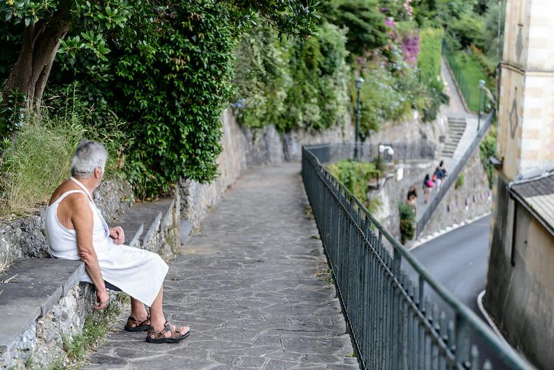 Pondering in Portofino