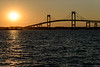Claiborne Pell Bridge Sunset