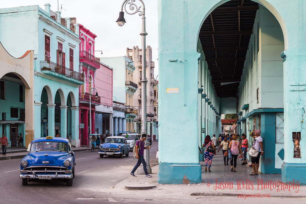 Colours of the Cuban capital.