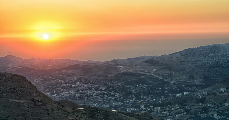 Faraya Valley Sunset