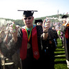 Graduates enjoy a beautiful sunny day during the 37th Commencement of Liberty University on May 15, 2010. (Photo by AJ Chan)