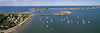Allerton Harbor Panorama from 368 feet