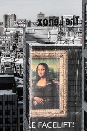Mona Lisa in the City
