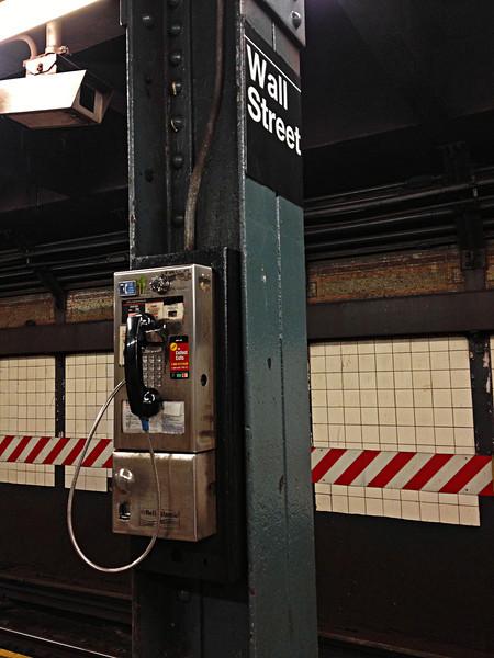 Wall Street Payphone