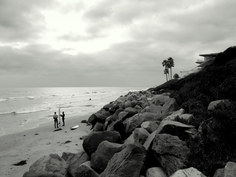 "It's a So Cal beach day everyday when you live at the beach.<br /> ""Waiting for the wave"""