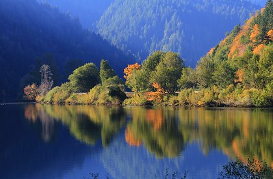 Autumn Colors on the Umpqua River, OR