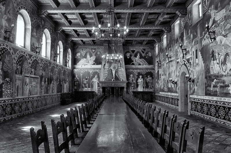 The Castello di Amorosa grand dinning room<br /> ref: 2c553247-1532-4b74-a191-dc4e88013c7e