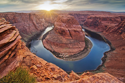 Horseshoe overlook bend