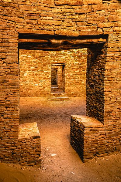Passageway   Pueblo Bonito