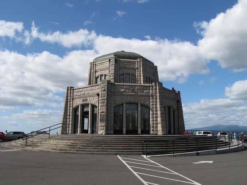 Vista House, Oregon, Old Columbia Highway, September 2010